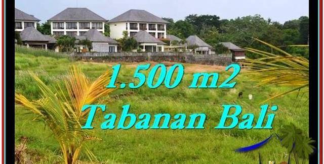 Magnificent PROPERTY TABANAN LAND FOR SALE TJTB252