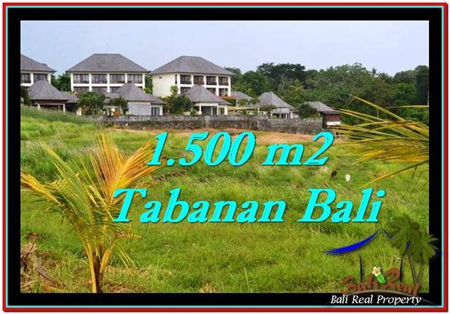 Magnificent PROPERTY TABANAN LAND FOR SALE TJTB252