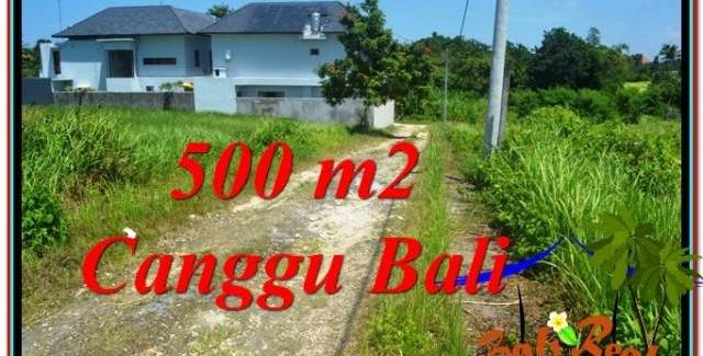 FOR SALE Magnificent PROPERTY 500 m2 LAND IN Canggu Brawa BALI TJCG201