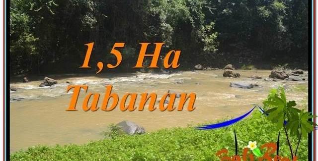 FOR SALE Affordable 15,000 m2 LAND IN TABANAN TJTB304