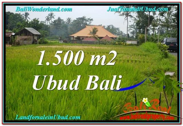 FOR SALE Exotic LAND IN Ubud Tampak Siring BALI TJUB558