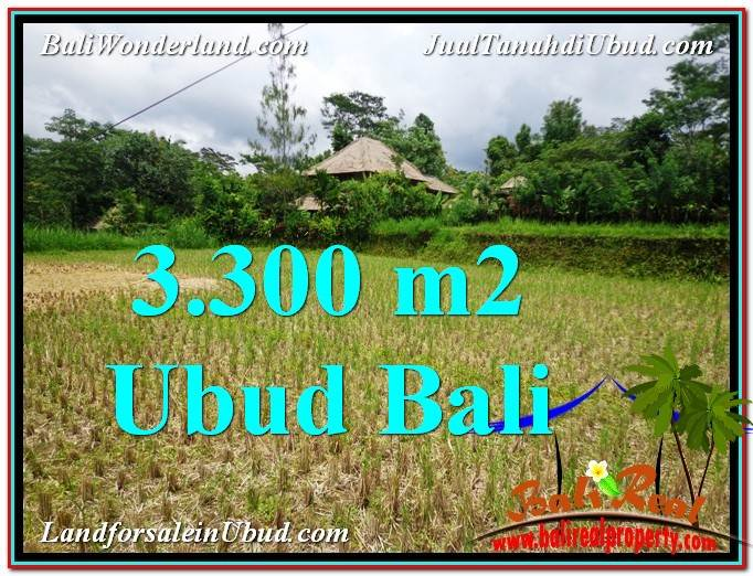 Magnificent PROPERTY LAND FOR SALE IN UBUD TJUB562