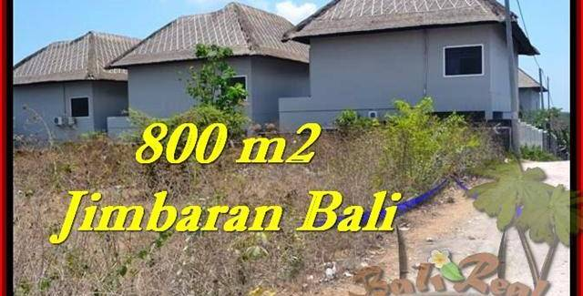 Magnificent PROPERTY 800 m2 LAND IN JIMBARAN BALI FOR SALE TJJI098