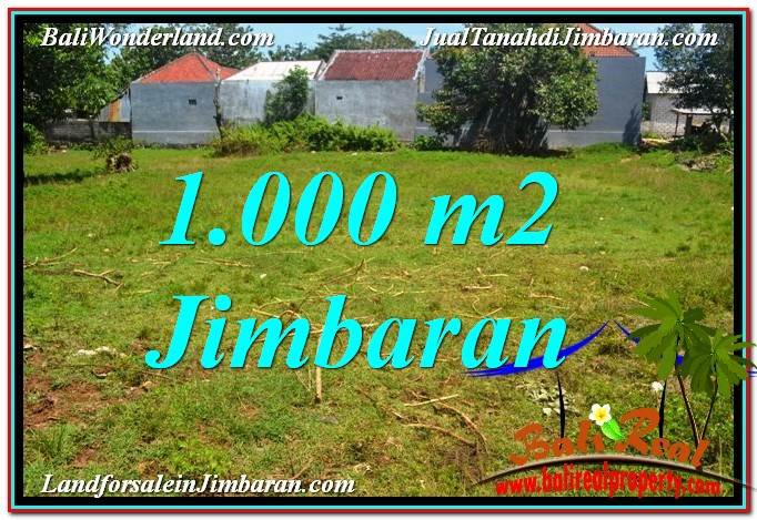 Affordable PROPERTY 1,000 m2 LAND FOR SALE IN Jimbaran Ungasan BALI TJJI108