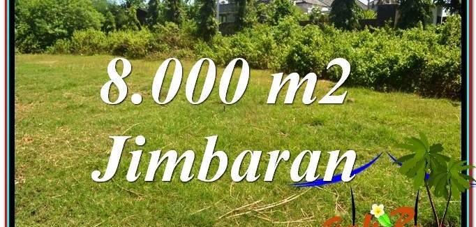 8,000 m2 LAND SALE IN JIMBARAN TJJI109