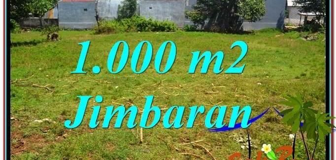 FOR SALE Exotic PROPERTY 1,000 m2 LAND IN Jimbaran Ungasan BALI TJJI108