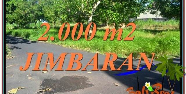 Affordable PROPERTY 2,000 m2 LAND FOR SALE IN Jimbaran Uluwatu  BALI TJJI114