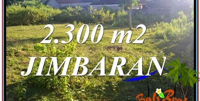 FOR SALE Magnificent PROPERTY 2,300 m2 LAND IN Jimbaran Ungasan BALI TJJI117