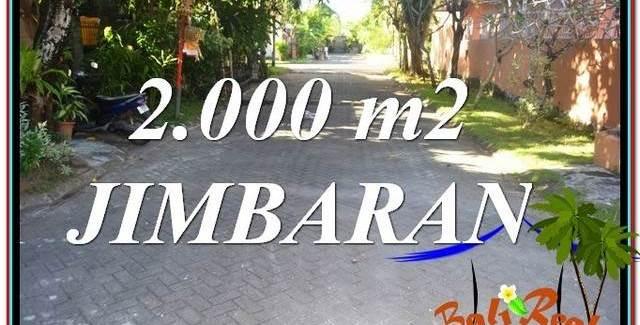 FOR SALE Magnificent PROPERTY 2,000 m2 LAND IN JIMBARAN TJJI115