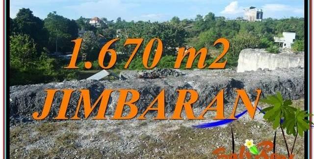 FOR SALE 1,670 m2 LAND IN JIMBARAN BALI TJJI116