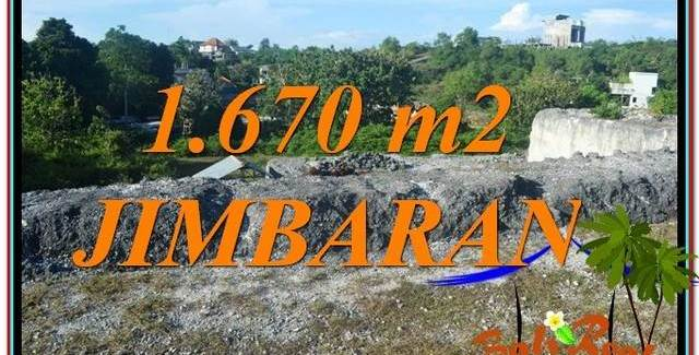 FOR SALE 1,670 m2 LAND IN JIMBARAN BALI TJJI116