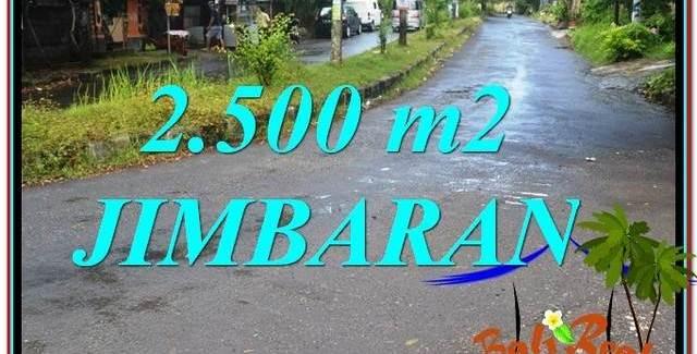 Exotic PROPERTY Jimbaran Ungasan BALI 2,500 m2 LAND FOR SALE TJJI118