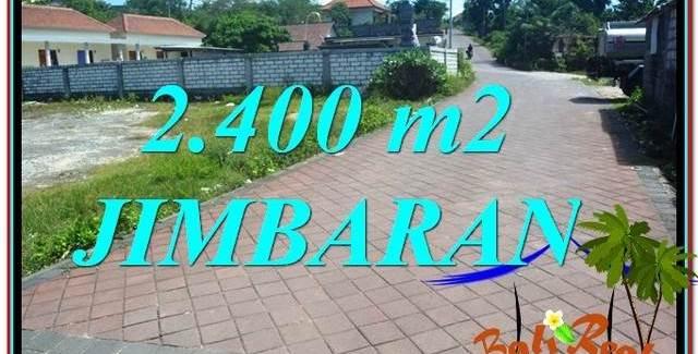 Magnificent PROPERTY 2,400 m2 LAND FOR SALE IN JIMBARAN BALI TJJI110