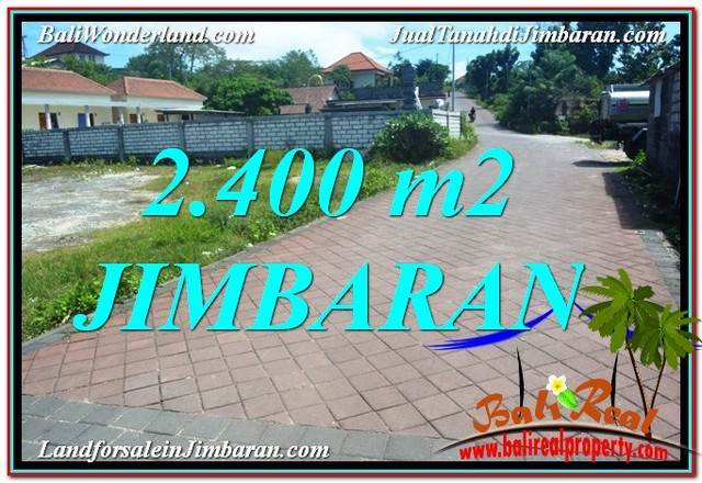 Beautiful Jimbaran Uluwatu  2,400 m2 LAND FOR SALE TJJI110