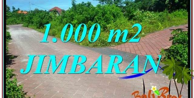 FOR SALE Affordable 1,000 m2 LAND IN JIMBARAN TJJI111