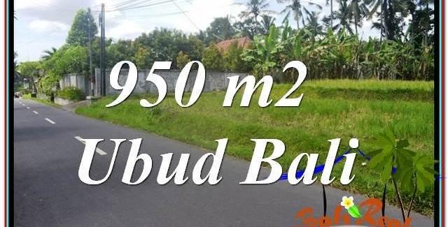 Beautiful PROPERTY UBUD LAND FOR SALE TJUB648