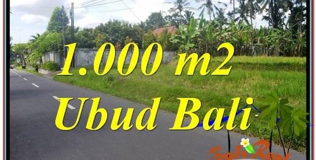 FOR SALE Affordable PROPERTY LAND IN Sentral / Ubud Center TJUB649