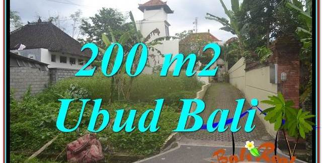 Magnificent 200 m2 LAND IN UBUD BALI FOR SALE TJUB632