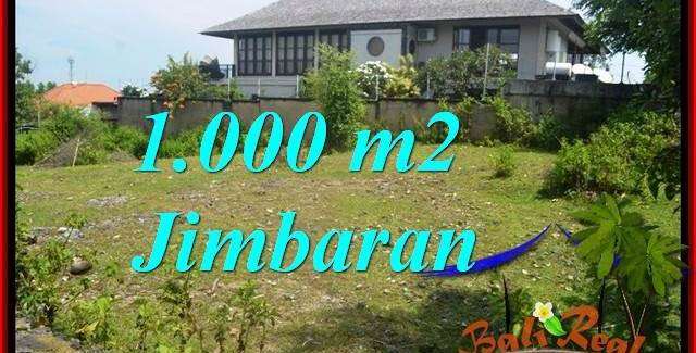 Exotic PROPERTY Jimbaran Ungasan BALI 1,000 m2 LAND FOR SALE TJJI123