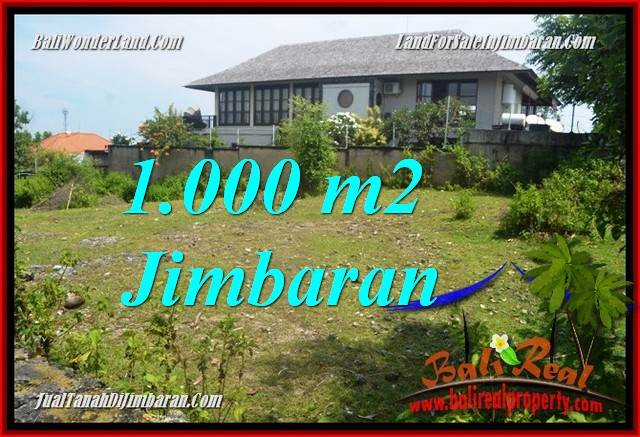 FOR SALE Magnificent PROPERTY 1,000 m2 LAND IN JIMBARAN BALI TJJI123