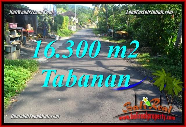 Beautiful 16,300 m2 LAND FOR SALE IN TABANAN TJTB361