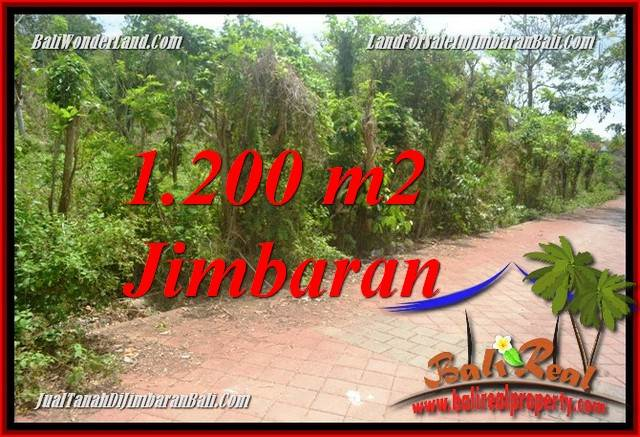 Magnificent 1,200 m2 LAND IN JIMBARAN ULUWATU BALI FOR SALE TJJI128A