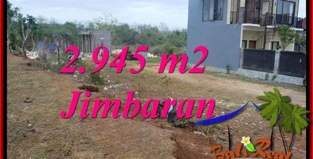 Beautiful JIMBARAN BALI 2,945 m2 LAND FOR SALE TJJI132