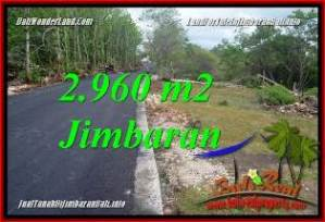 FOR SALE Exotic PROPERTY 2,960 m2 LAND IN JIMBARAN UNGASAN BALI TJJI133A