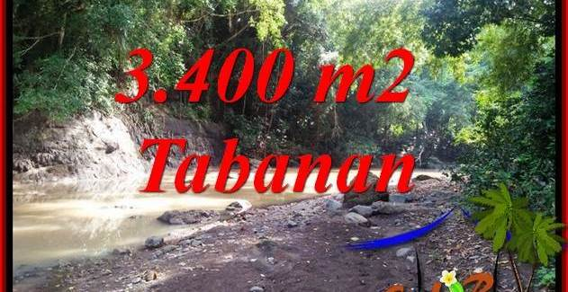 Affordable Property 3,400 m2 Land in Tabanan Selemadeg Bali for sale TJTB412