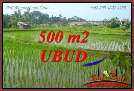 FOR sale Magnificent 500 m2 Land in Ubud Bali TJUB708