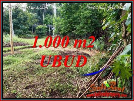 FOR sale Affordable 1,000 m2 Land in Ubud Bali TJUB712