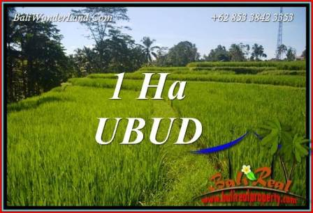 Beautiful 10,000 m2 Land sale in Ubud Tegalalang Bali TJUB715