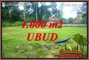 Exotic Land sale in Ubud TJUB728