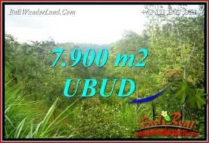 FOR sale 7,900 m2 Land in Ubud TJUB729