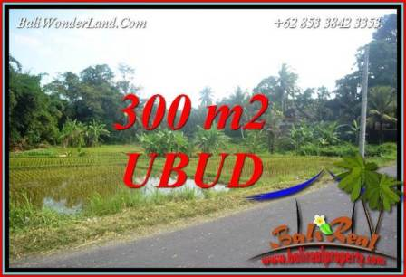 FOR sale Affordable Property 300 m2 Land in Sentral Ubud Bali TJUB730