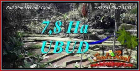 Ubud Bali 78,000 m2 Land for sale TJUB741
