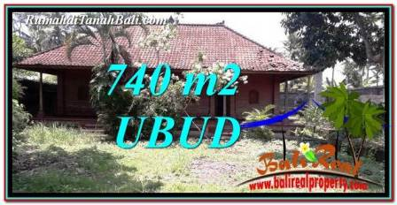 LAND ith House IN UBUD BALI FOR SALE TJUB764