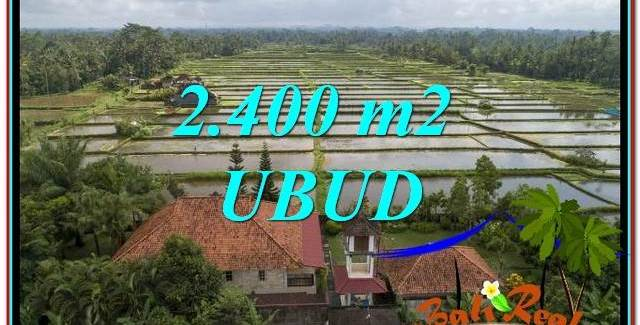 Exotic PROPERTY UBUD LAND FOR SALE TJUB761
