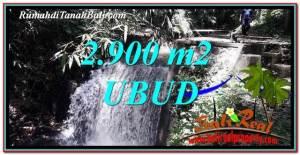 Magnificent 2,900 m2 LAND SALE IN UBUD BALI TJUB762