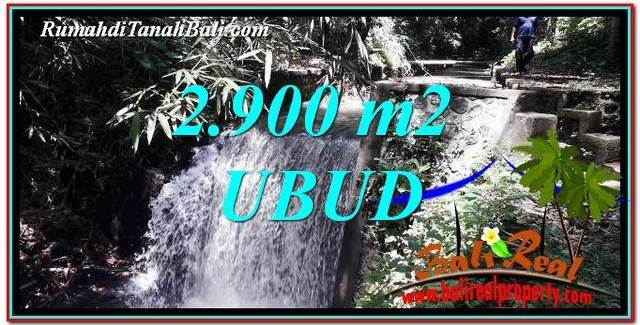 Exotic UBUD BALI 2,900 m2 LAND FOR SALE TJUB762