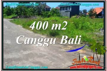 Exotic 400 m2 LAND SALE IN CANGGU TJCG202