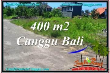Exotic PROPERTY 400 m2 LAND SALE IN CANGGU BALI TJCG202