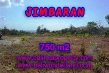 Jimbaran Uluwatu BALI 750 m2 LAND FOR SALE TJJI079