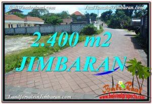 Exotic 2,400 m2 LAND FOR SALE IN JIMBARAN TJJI110