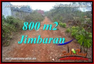 JIMBARAN UNGASAN 800 m2 LAND FOR SALE TJJI129