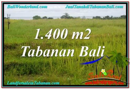 Exotic TABANAN 1,400 m2 LAND FOR SALE TJTB309