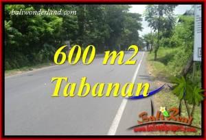 Exotic Property 600 m2 Land for sale in Tabanan Kerambitan TJTB401