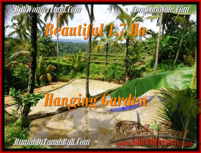 Exotic 17,000 m2 LAND FOR SALE IN UBUD TJUB470