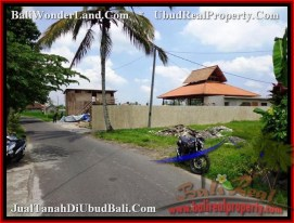 Exotic PROPERTY LAND IN UBUD FOR SALE TJUB482