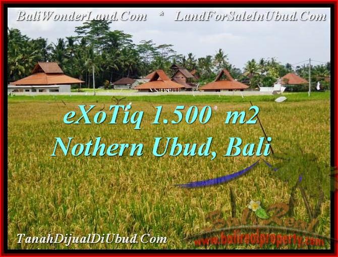 FOR SALE Affordable PROPERTY 1,500 m2 LAND IN UBUD BALI TJUB488